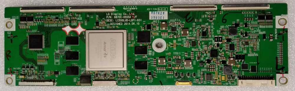 6870C-0555A HF - Modulo T-Con LG - 55EC930V-ZA - Pannello LC550LUD (LG) (P1) TV Modules