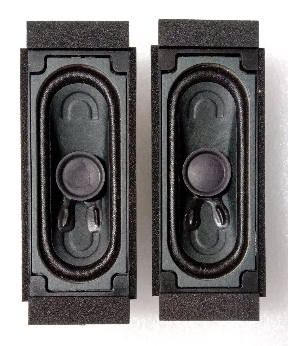 Assy speaker 8 ohm 5W - LG 24MT47D-PZS.AEUQLUP - Pannello V236BJ1-LE2 Rev C1 TV Modules