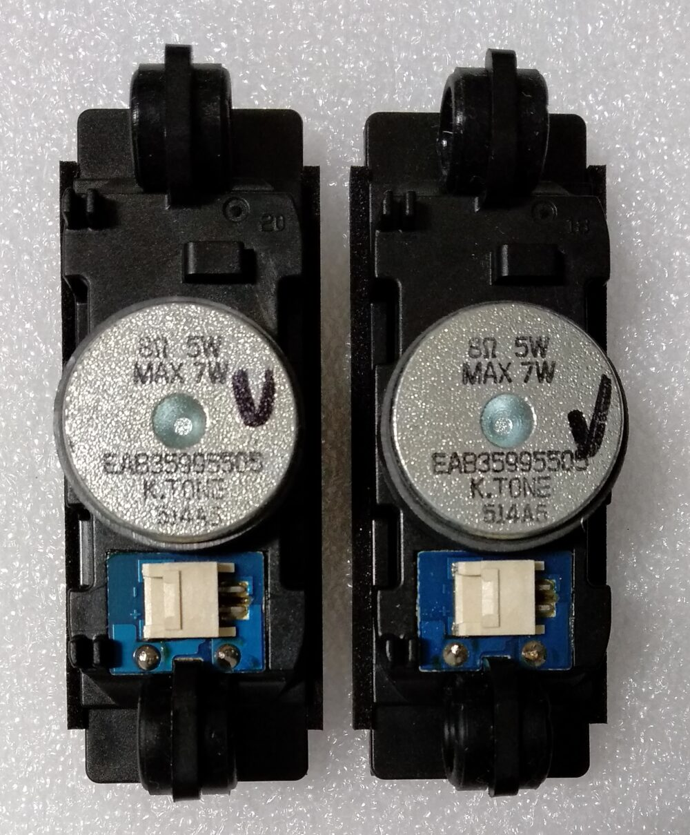 Assy speaker 8 ohm 5W - LG 24MT47D-PZS.AEUQLUP - Pannello V236BJ1-LE2 Rev C1 B TV Modules