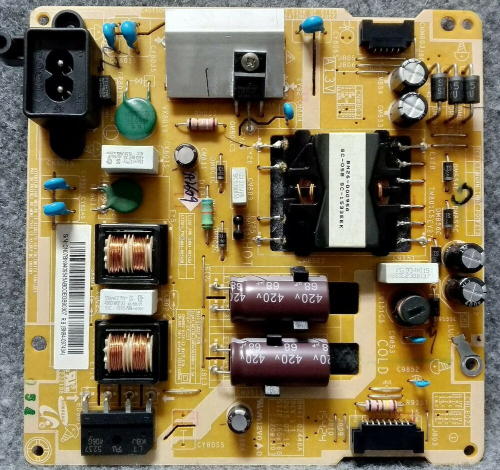 BN44-09545AB - Power Samsung UE32J5500AK TV Modules