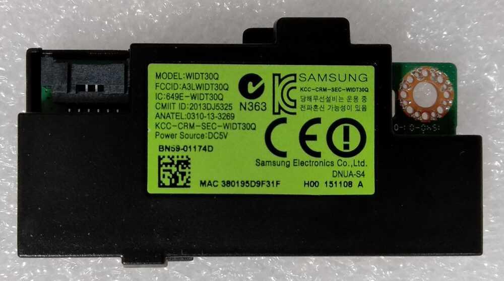 BN59-01174D - WIDT30Q - Modulo WI-FI Samsung UE32J5500AK TV Modules