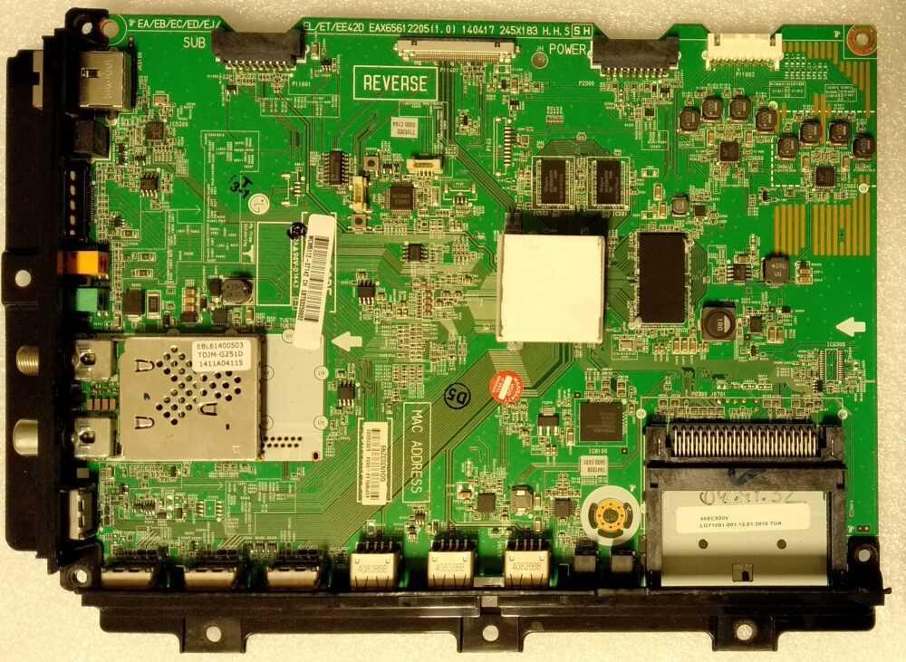 EAX65612205 (1.0) - Modulo main LG - 55EC930V-ZA - Pannello LC550LUD (LG) (P1) TV Modules