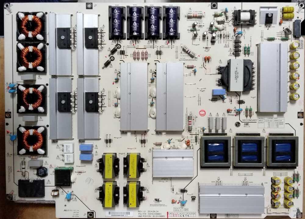 EAY63348801 - Modulo power LG - 55EC930V-ZA - Pannello LC550LUD (LG) (P1) TV Modules