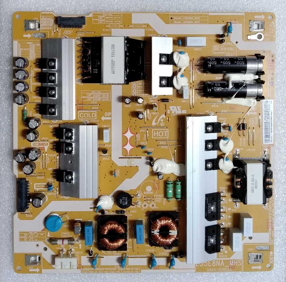 BN44-00900A - Modulo power Samsung QE55Q8CAMT - Pannello CY-XM055FLAV3H TV Modules