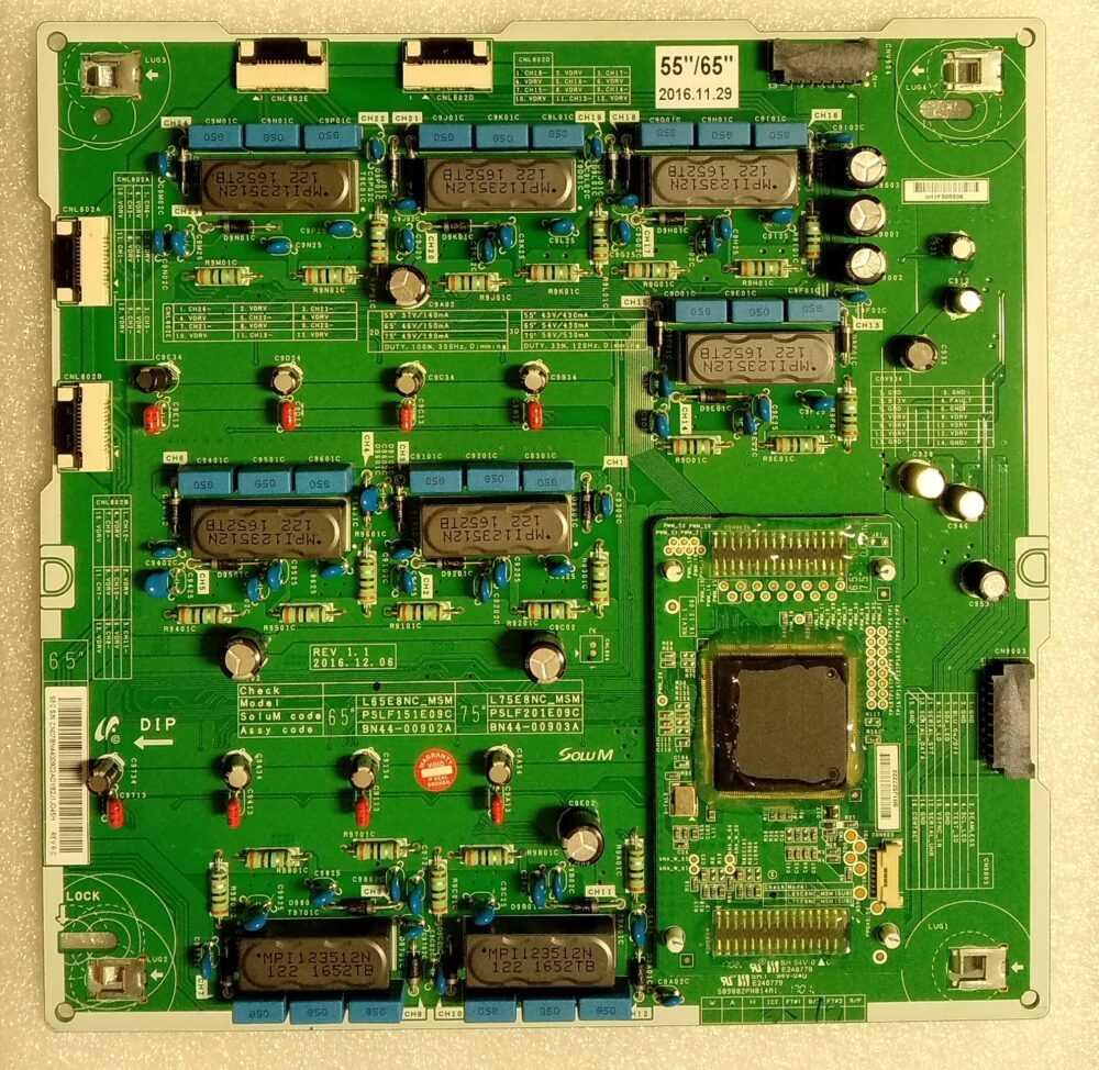 BN44-00902A-903A - Modulo iverter Samsung Samsung QE55Q8CAMT - Pannello CY-XM055FLAV3H TV Modules