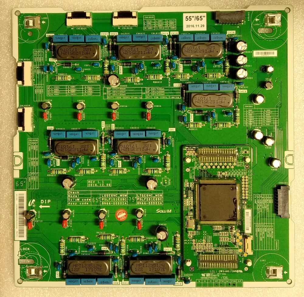 BN44-00902A - Modulo inverter Samsung QE55Q7CAMTXZT - Pannello CY-XM055FLAV2H TV Modules