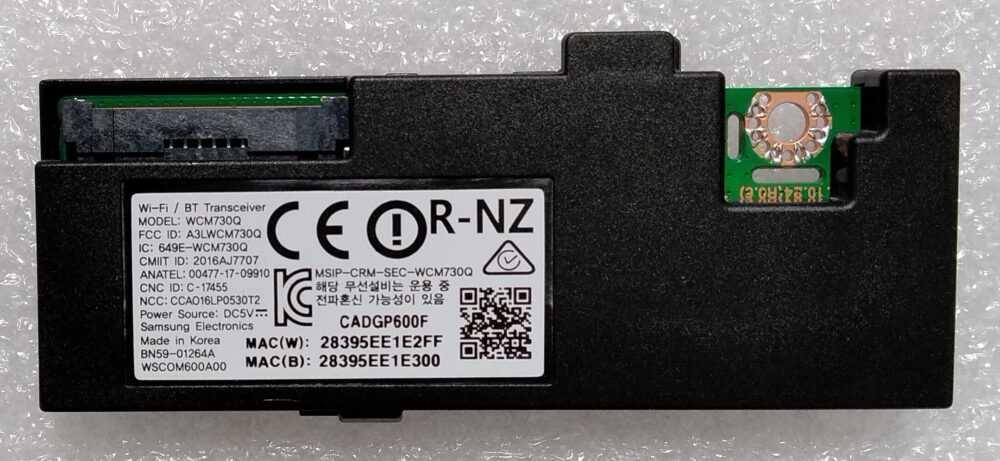 BN50-01264A - WCM730Q - Modulo WI-FI Samsung UE40MU6400UXZT TV Modules