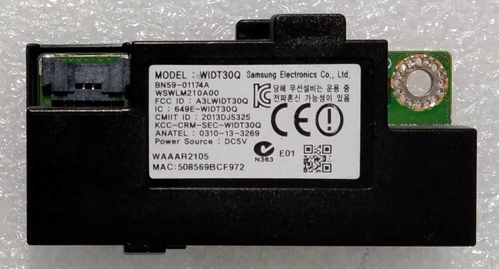 BN59-01174A - WIDT30Q - Modulo WI-FI Samsung UE48H6200AYXZT TV Modules