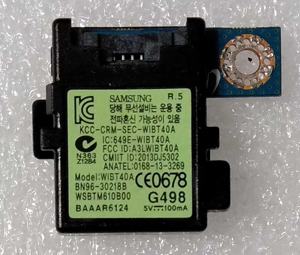 BN96-30218B - WIBT40A - Modulo bluetooth Samsung UE48H6200AYXZT TV Modules