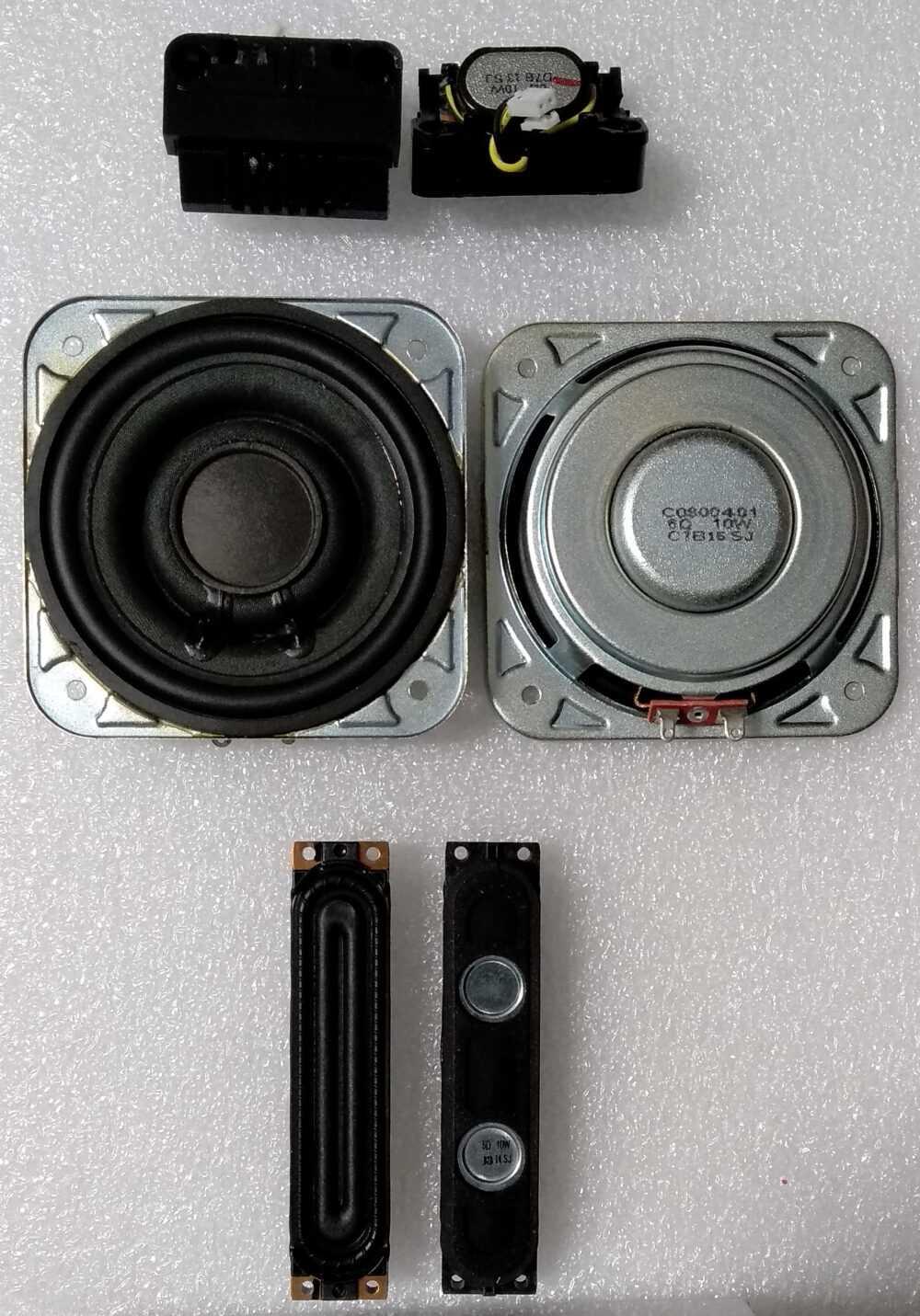 BN96-39911A - Kit altoparlanti Samsung UE65KS8000TXZT TV Modules