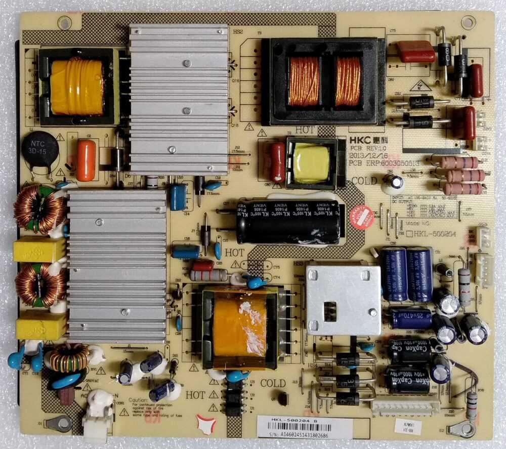 HKL-500204 B - Modulo power Haier LE50H6500CF TV Modules