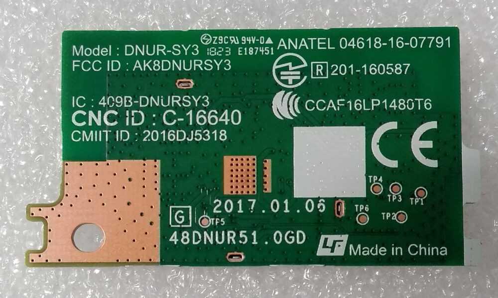 1-458-959-13 - DNUR-SY3 - Modulo WI-FI Sony KD-65XF7096 TV Modules