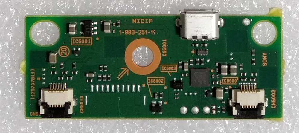 1-983-251-11 - Modulo micro usb Sony KD-55XG9505 TV Modules