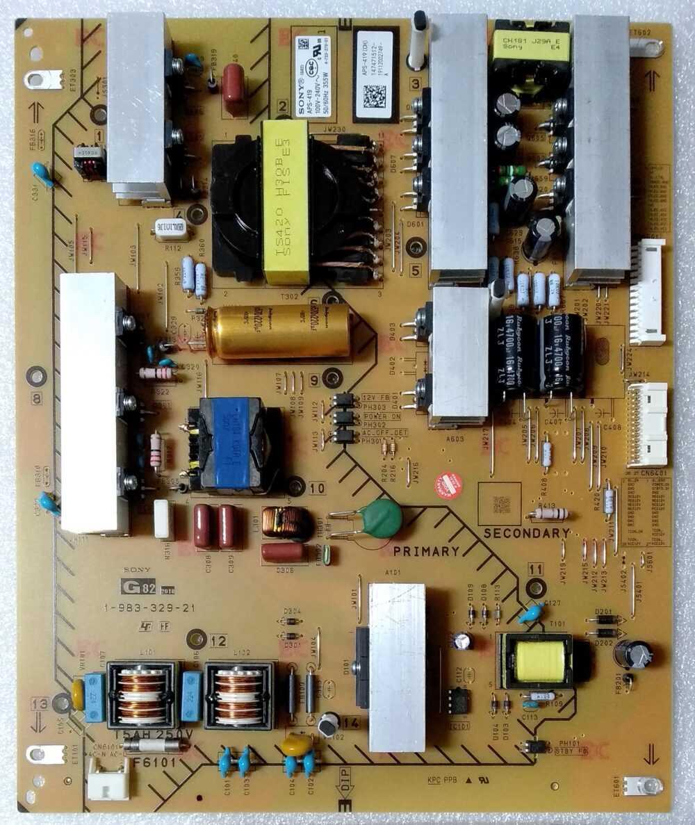 1-983-329-21 - Modulo power Sony 55XG9505 - Pannello YD9S055DND01 TV Modules