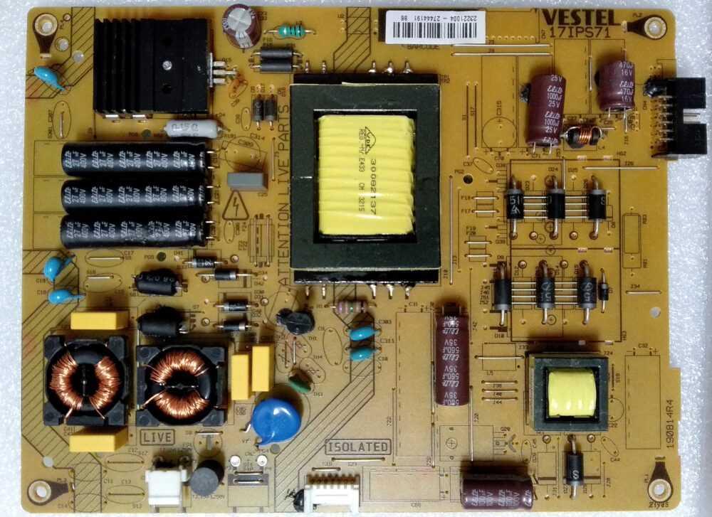 17IPS71 - 23221004 - Modulo power Telefunken TE40283N25F1C10D TV Modules