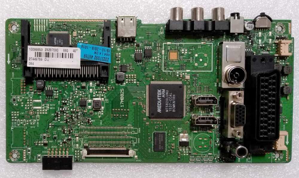 17MB82S - 23237090 - Modulo main Telefunken-Vestel TE40283N25F1C10D - Pannello VES395UNDC-2D-N01 TV Modules
