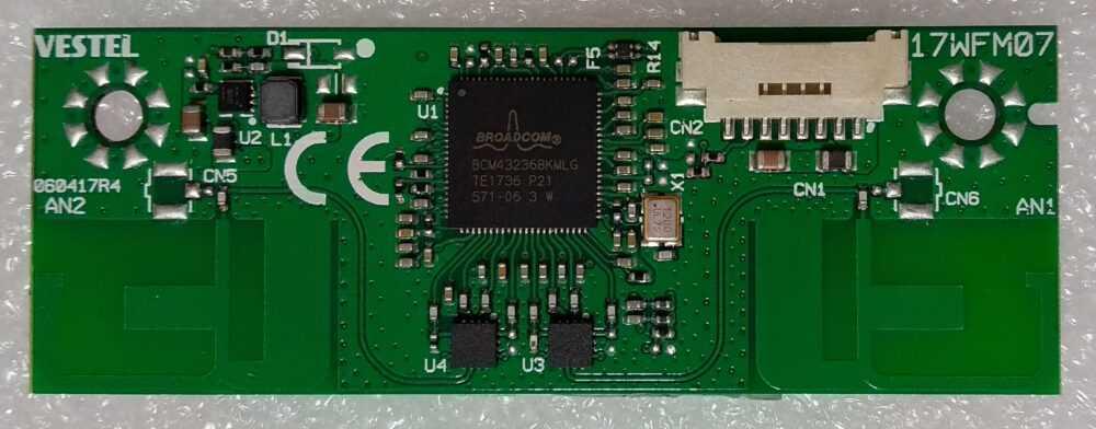 17WFM07 - 23494876 - Modulo WI-FI Telefunken - Hitachi - JVC - Vestel TV Modules