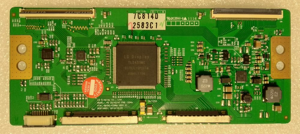 6870C-0358A - T-CON per 324247 FHD LG 47LW4500 TV Modules