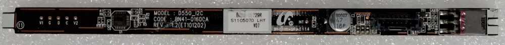 BN41-01600A - Modulo ricevitore IR Samsung UE40D6000TPXZT TV Modules