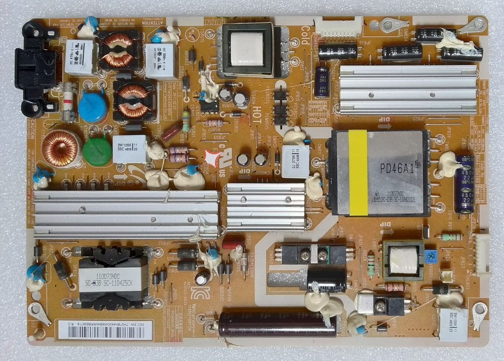 BN44-00458B - Modulo power Samsung UE40D6000PTXZT TV Modules