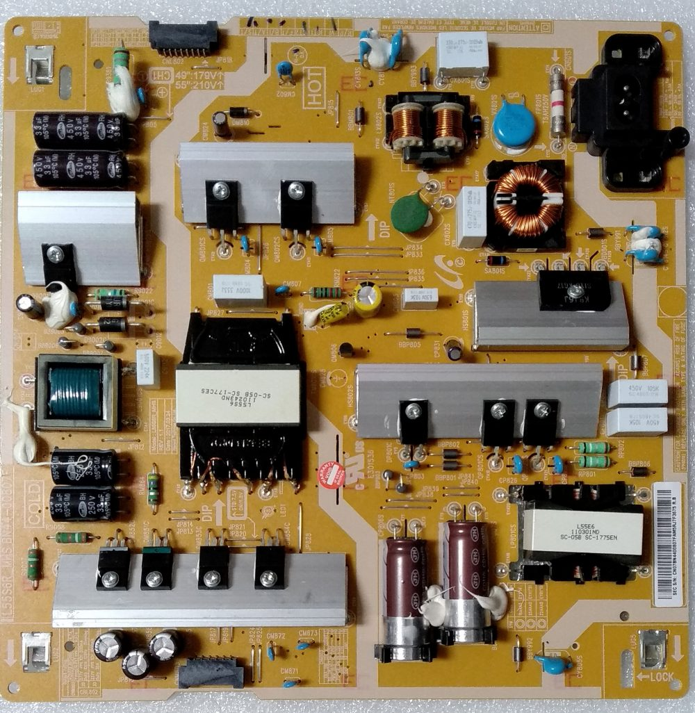BN44-00807F - Modulo power Samsung UE49MU6120KXZT TV Modules