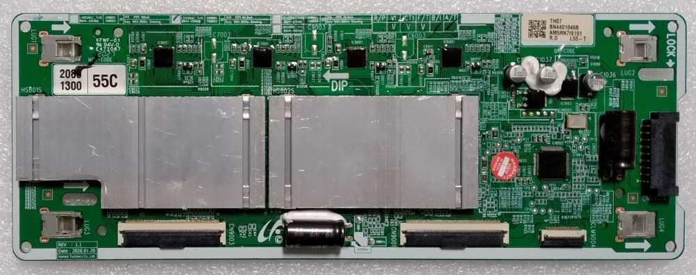 BN44-01046B - Modulo T-Con Samsung QE55Q82TATXZT - Pannello CY-TT055FMAV2H TV Modules