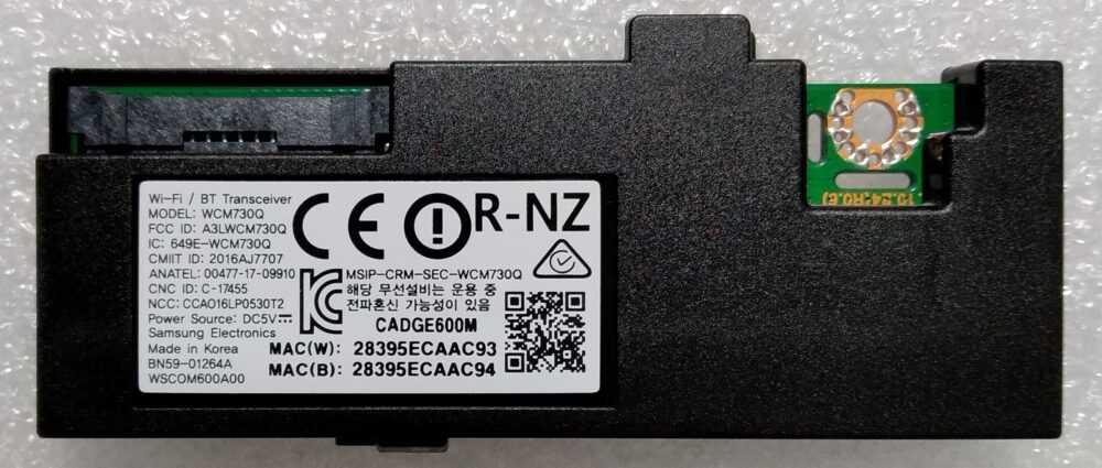 BN59-01264A - WCM730Q - Modulo WI-FI Samsung UE49MU6120KXZT TV Modules