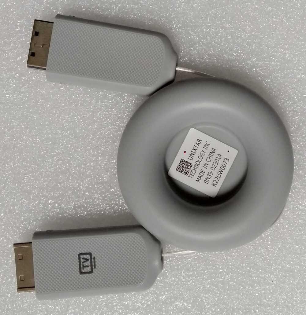 BN81-16660A - BN39-02301A - Cavo ottico Samsung QE55Q8CAMT TV Modules