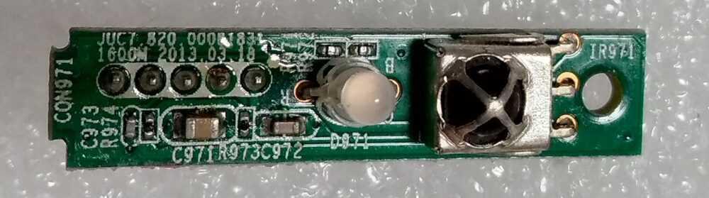 JUC7-820.00081831 - Ricevitore IR United LED32X16 TV Modules