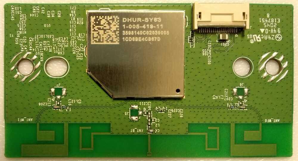 1-005-419-11 - Modulo WI-FI Modulo ricevitore IR + switch power Sony KD-40X80J TV Modules