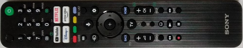 1-009-953-21 - Telecomando originale KD-40X80J TV Modules