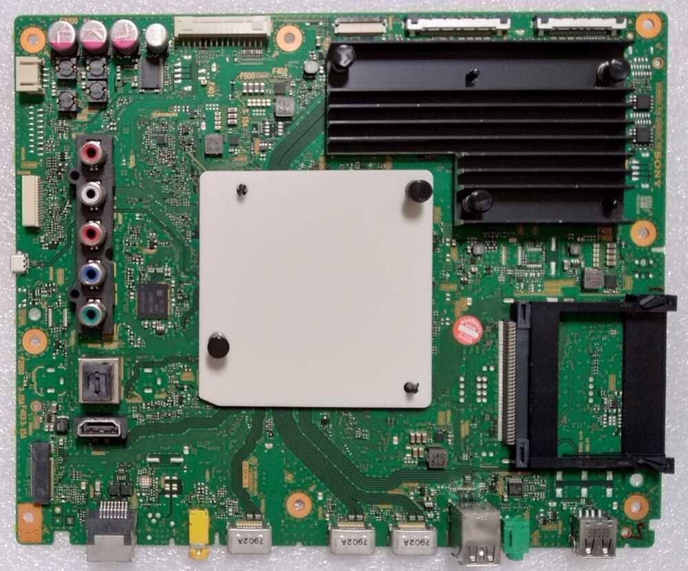1-982-022-31 - Modulo main Sony KD-55XE8577 - Pannello V550QWME04 TV Modules