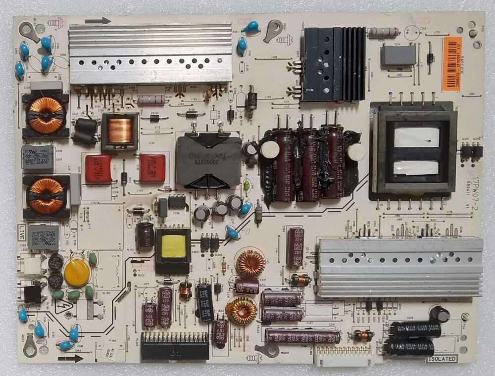 20555233 - 17PW07-2 - Modulo power Sharp LC-40LE510 TV Modules