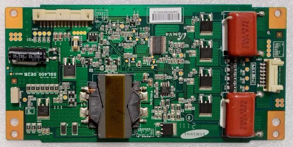 30072696 - SSL400_0E2B - Modulo inverter Sharp LC-40LE510 TV Modules