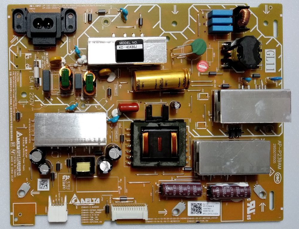 AP-P239AM - 1-009-799-21 - Modulo power Sony KD-43X80J TV Modules