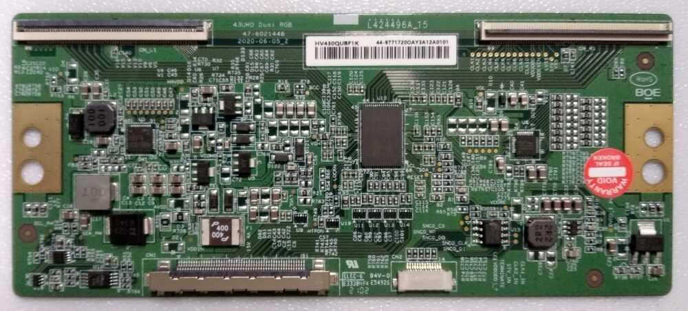HV430QUBF1K - Modulo T-Con Sony KD-40X80J - Pannello YSBM043CNO01 TV Modules