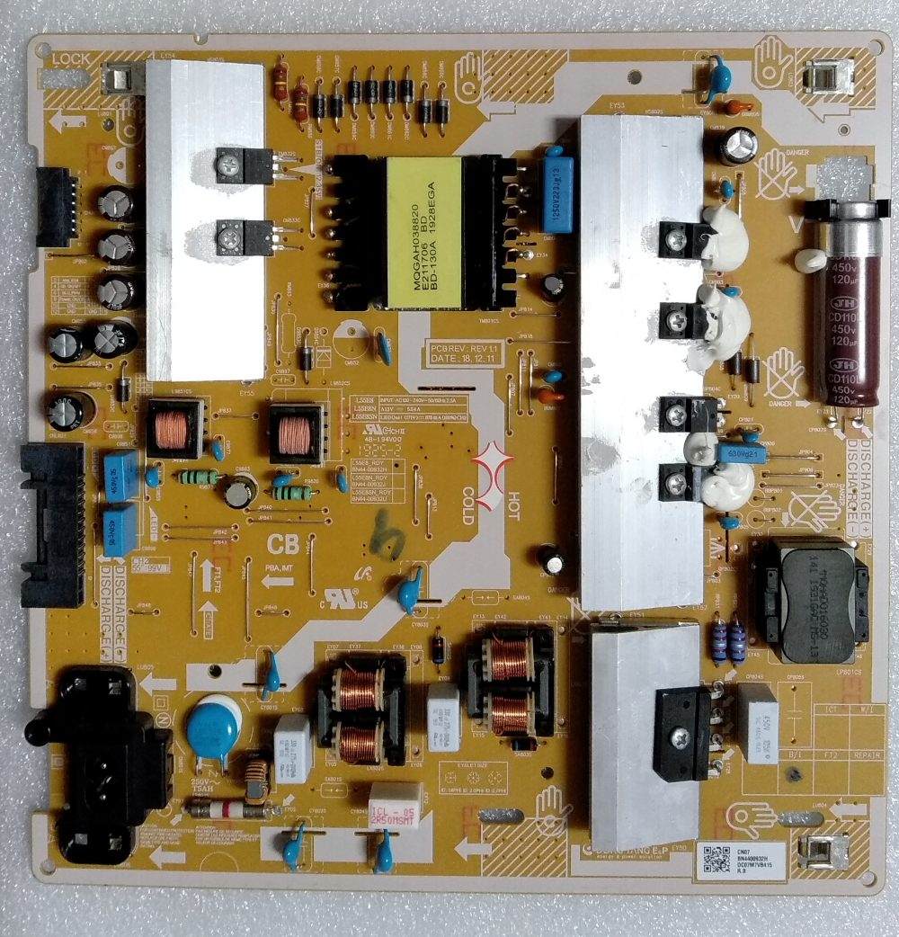 BN44-00932H - Modulo power Samsung QE55Q60RATXZT TV Modules